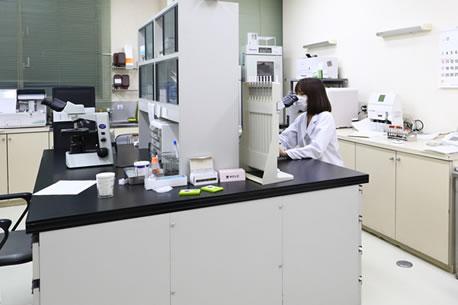 福岡鳥飼病院の検査科